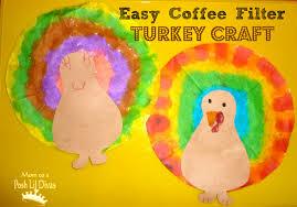 mom to 2 posh lil divas kids tie dye turkey craft
