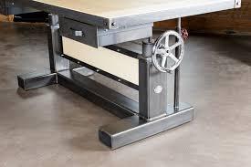 crank desk u2014 tice tables