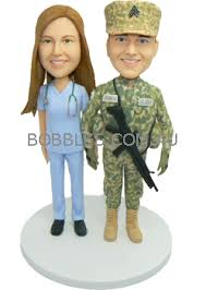 army cake toppers army and custom wedding cake topper