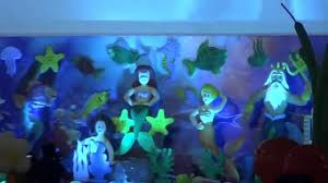 Theme Decoration by Mermaid Theme 3d Kids 1st Birthday Party Theme Decorations Youtube