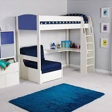 High Sleeper Bed With Futon Futon Bunk Bed With Desk Foter Decor Pinterest Futon Bunk