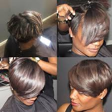 shortcut for black hair short black hairstyles with highlights 512 best desired hair style