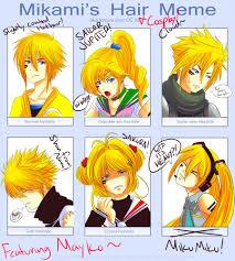 Meme Hairstyles - mayko hairstyle meme by rhythmn on deviantart