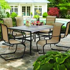Outdoor Patio Dining Furniture Patio Furniture Table And Chairs With Regard To Inspire All Home