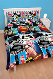 Superman Bedroom Accessories by Batman Vs Superman Reversible Duvet Cover Bed Sets Towel