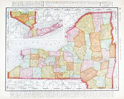 Map New York State by Old Map Of New York State Usa 1900 Stock Photo Picture And