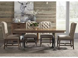 Liberty Furniture Dining Table by Liberty Furniture Arlington Trestle Table With Metal Base