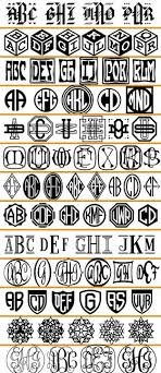 monogram websites these would be great to use with a silhouette cameo vinyl
