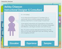 e learning challenge 31 creative resume templates for e learning