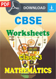 cbse class 3 maths worksheets pdf