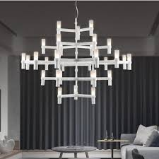 Candle Pendant Light Buy Nordic Postmodern Pendant Light Layer Aluminum