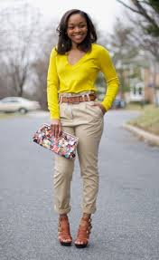 what color goes with khaki pants pant row