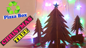 pizza box christmas tree best out of waste christmas tree