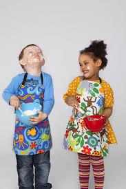 amazon com mimi the sardine coated organic cotton child u0027s apron
