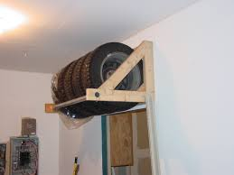 Plans For Garages Easy Diy Tire Storage Rack Winter Is A U0027comin Car Garage