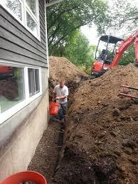 exterior drain tile systems affordable egress windows u0026 basement