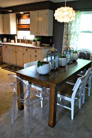extension dining table inspirations including diy kitchen plans