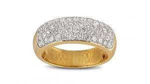 Mens Gold Diamond Wedding Rings by 2 10ct Diamond Mens Yellow Gold Wedding Band