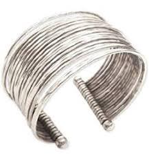 cuff metal bracelet images Women 39 s stainless steel polished cuff bracelet silver jpg