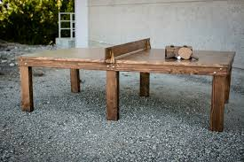Handcrafted Wood Tables Ping Pong Tables Handcrafted From Wood And Steel