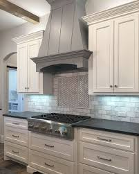 Colorful Kitchen Backsplashes White Cabinets Paint Color Is Sherwin Williams Extra White Grey