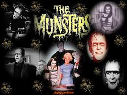 Popular Halloween Monsters by The Munsters A 60s Comedy Tv Series About Monsters Classic And
