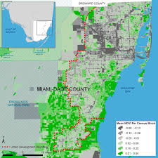 City Of Miami Zoning Map by Urban Greenness U0026 Chronic Illness U2014 Miami U0027s Built Environment