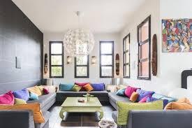 coussin pour canap gris design interieur deco salon moderne canapés gris coussins