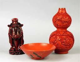 Cinnabar Vases Cinnabar