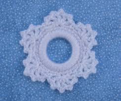 crochet snowflake ornament allfreechristmascrafts