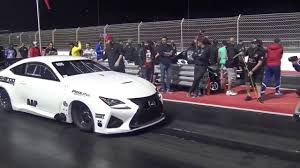 lexus sedan horsepower lexus rcf 3000 hp drag youtube