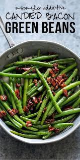 sauteed brown sugar bacon garlic green beans recipe