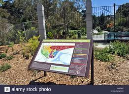 Golden Gate Botanical Garden San Francisco Botanical Gardens Entrance Map Sign In Golden Gate