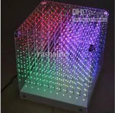 Cube Lights New Smd0805 3in1 3d Led Cube Light 3d Cube Light For Advertising