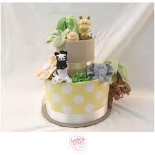gender neutral jungle diaper cake jungle safari theme