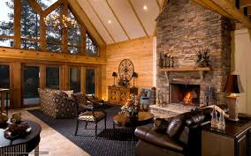 download wallpaper interior room premises fireplace free