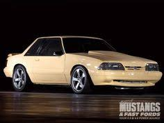 mustangs fast fords can the fox ford mustang be a legit track car 1988 ford