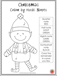 free download four music worksheets with a christmas theme join n
