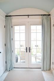 Curtains For Master Bedroom Best 25 French Door Curtains Ideas On Pinterest Door Curtains