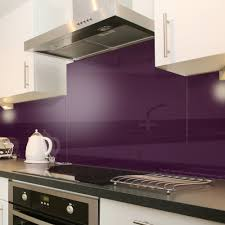 deep purple aubergine acrylic sheet backsplash love this color