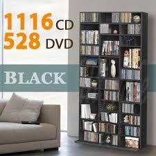 1116 cd 528 dvd storage shelf rack unit adjustable book bluray
