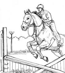 horse coloring pages coloringeast
