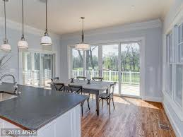 Transitional Dining Rooms Dining Room With Hardwood Floors U0026 Eat In Kitchen In Bethesda Md