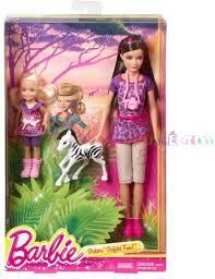 barbie sisters safari fun skipper chelsea doll 2 pack