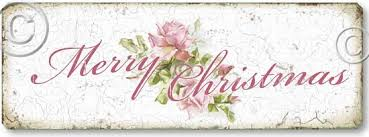 pink roses merry christmas sign fairy freckles com