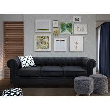 canapé en anglais canapé anglais classique en couleur graphite chesterfield ce
