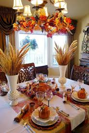 fall table decor beautiful wheat centerpiece with pumpkin tureens thanksgiving