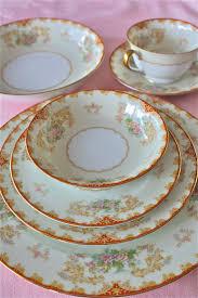 vintage china pattern reserved for cardinal noritake china 6 place