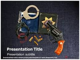 law enforcement powerpoint template slide world 3d animated