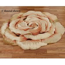 Flower Area Rug Rosine Cabbage Flower Area Rug Flooring Ideas Bed Room And
